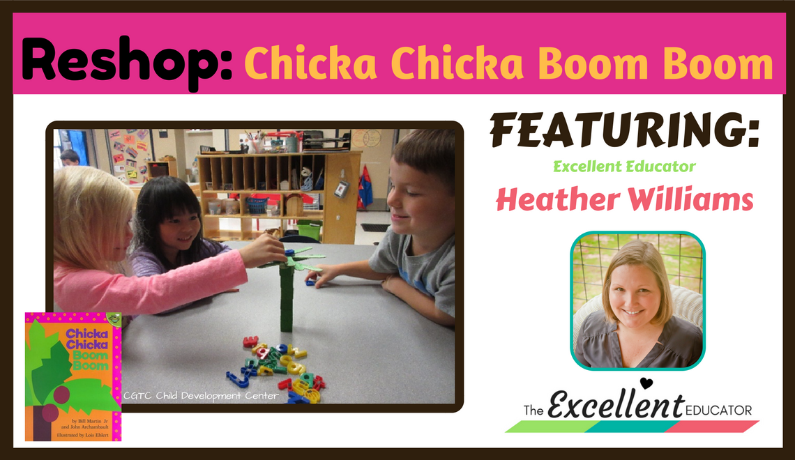A STEAM Lesson for Chicka Chicka Boom Boom | The Excellent Educator
